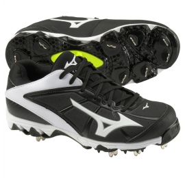 Mizuno 9-Spike Swift 4 noir-blanc