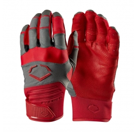 Gants de batting Evoshield Aggressor rouge