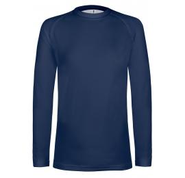 Undershirt manche longue adulte (semi-chaud) navy