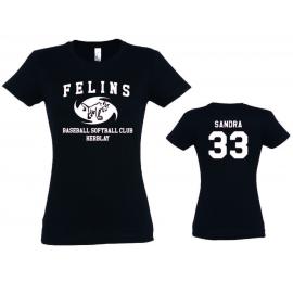 T-shirt femme Félins d'Herblay