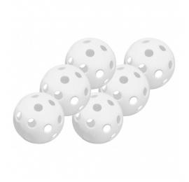 Pack de 6 balles wiffle blanches Easton