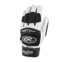 Gants de batting Rawlings BGP355Y noir