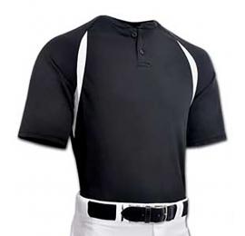 Maillot Baseball CHAMPRO BST62 Noir ADULTE