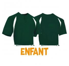 Maillot Baseball CHAMPRO BST62 Dark Green ENFANT