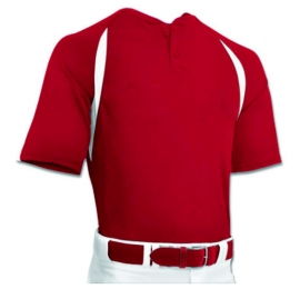 Maillot Baseball CHAMPRO BST62 Rouge ADULTE