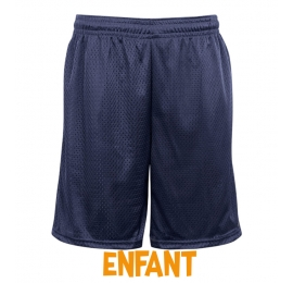 Short enfant Badger Navy sans poches