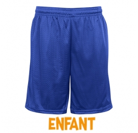 Short enfant Badger Royal sans poches