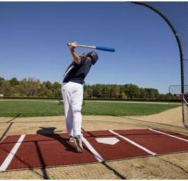 Tapis de batting double professionnel